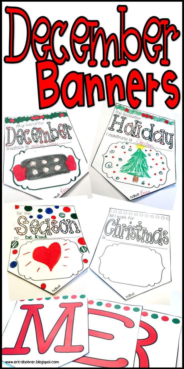 Christmas banners classroom banner banners and school counseling christmas banners kristyandbryce Images