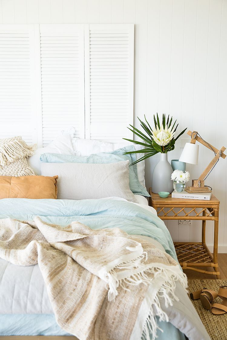 Expert advice: Five steps to a stylish seaside abode #coastalbedrooms