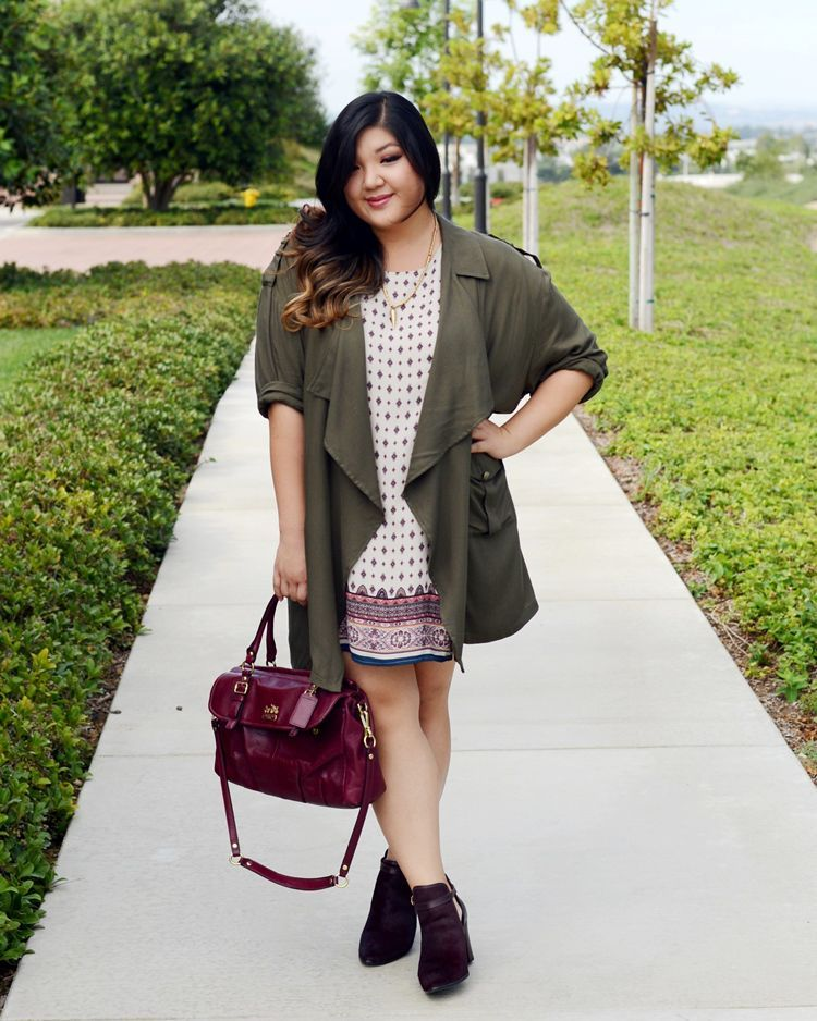 54c3d1d2a7be 24 Plus-Size Outfit Ideas for Fall - Plus-Size Style Inspiration