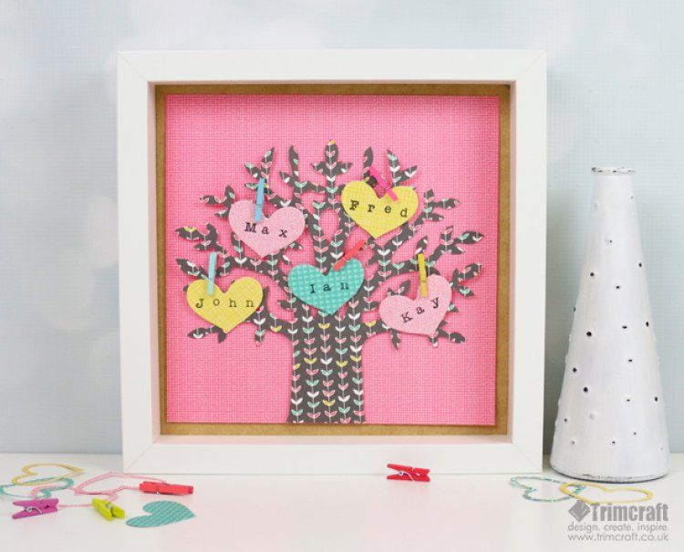 Learn How To Craft The Sweetest Family Tree With Our Free Template
