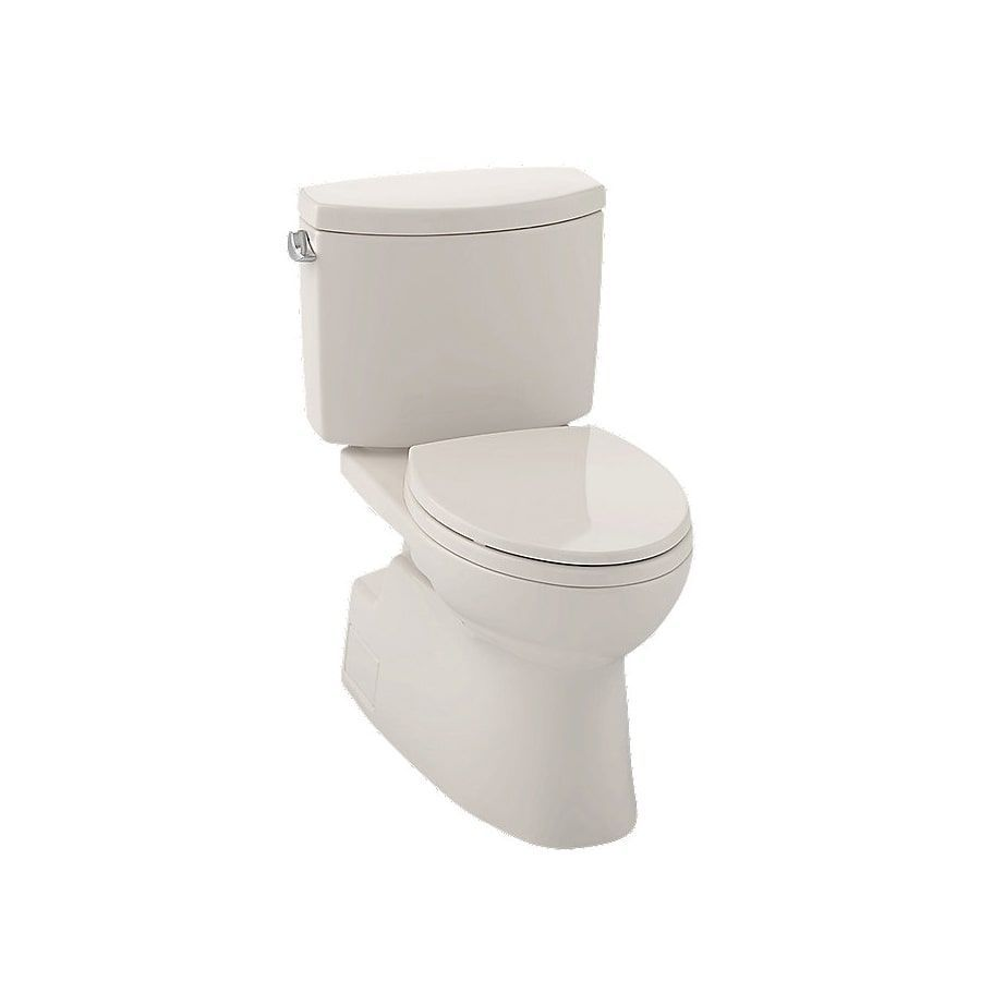 Toto Vespin Ii Sedona Beige Elongated Toilet (Sedona Beige) | Toilet ...