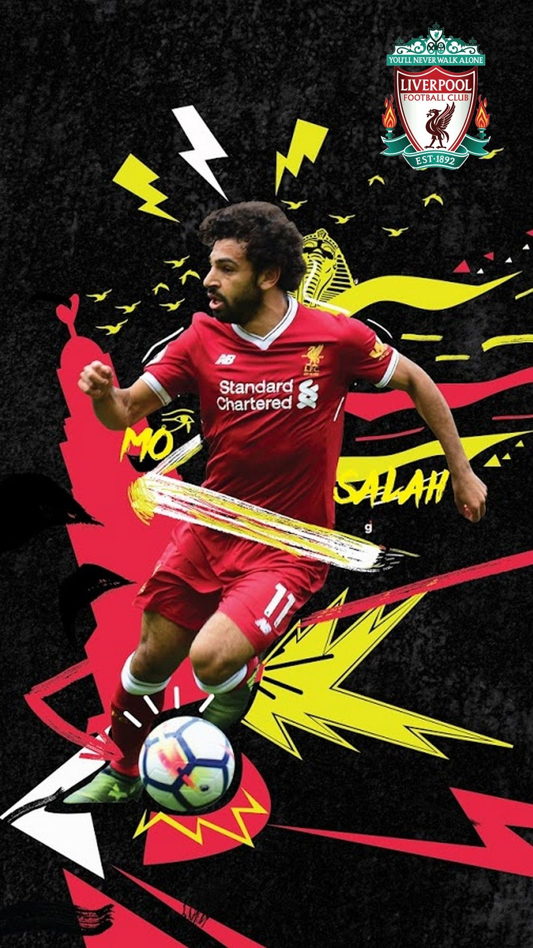 Mohamed Salah Pictures Wallpaper Android Mohamed Salah Liverpool Football Club Football Club
