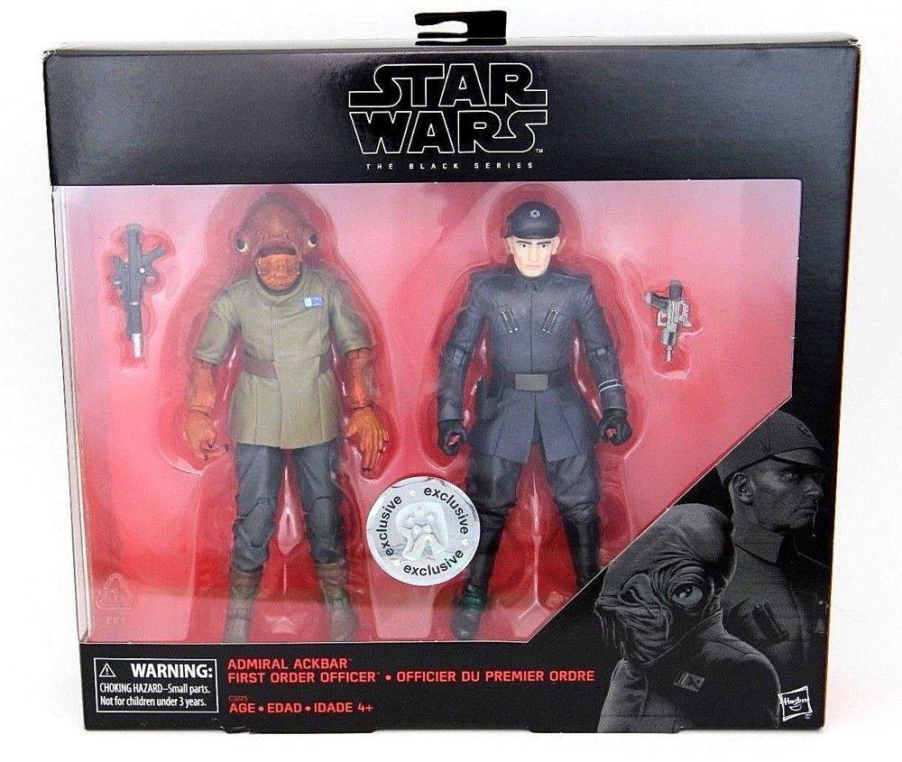 "Star Wars /""The Black Series General Ackbar /& de premier ordre/"""