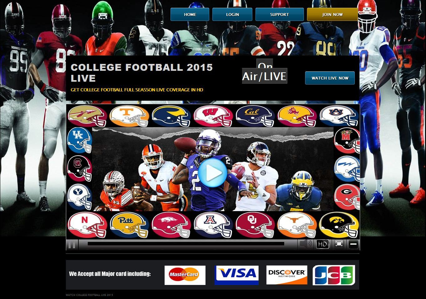 Watch Ncaa College Football Live Stream Watch Nfl Live Stream Live Football Streaming Live Football Streaming