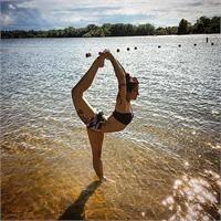 Hallee Caron Ra Yoga Hallee Went To Her First Bikram Yoga Class As A Junior In High School And Has Been Hooked Bikram Yoga Class Corepower Yoga Bikram Yoga