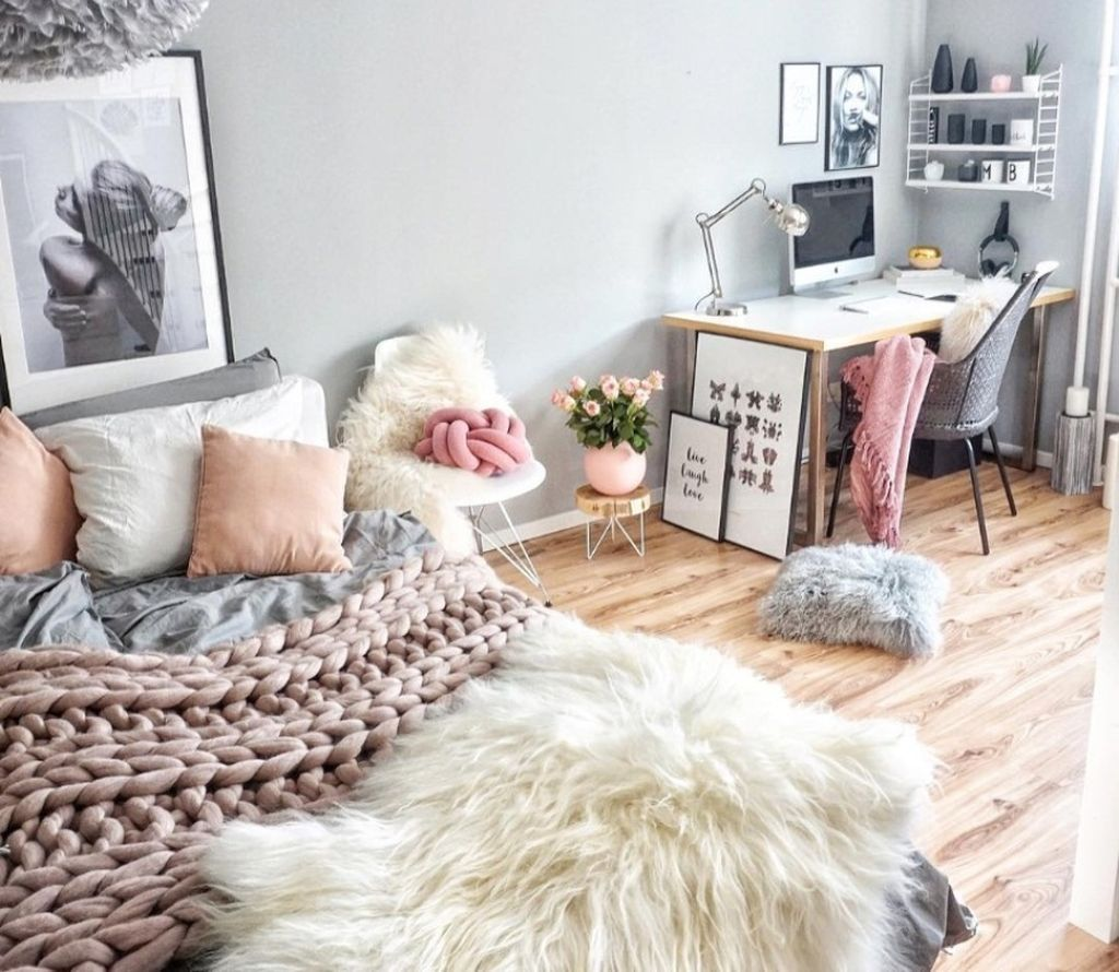 48 Cheap Teen Girls Bedroom Ideas With Simple Interior images