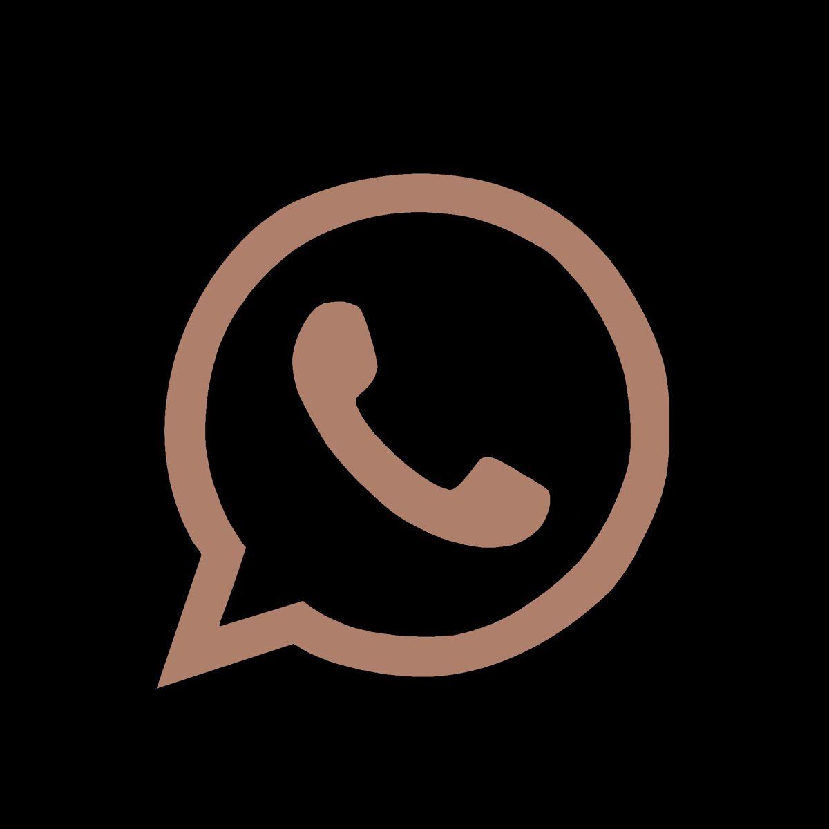 Whatsapp Icon Aesthetic Beige Bmp Tomfoolery