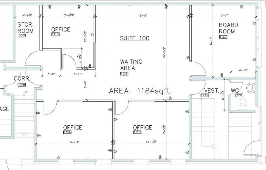 Small office plans and designs home layout ideas also rh pinterest