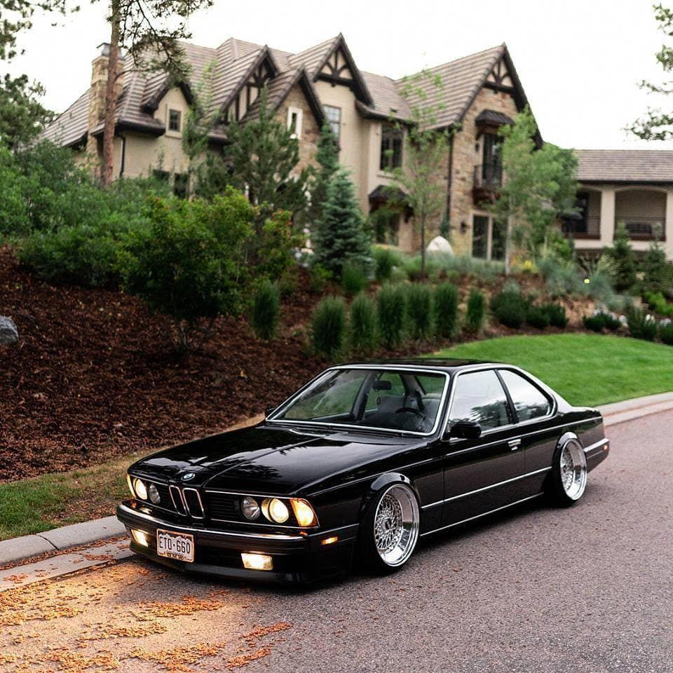 BMW 635CSi(E24) #BMWclassiccars #bmw