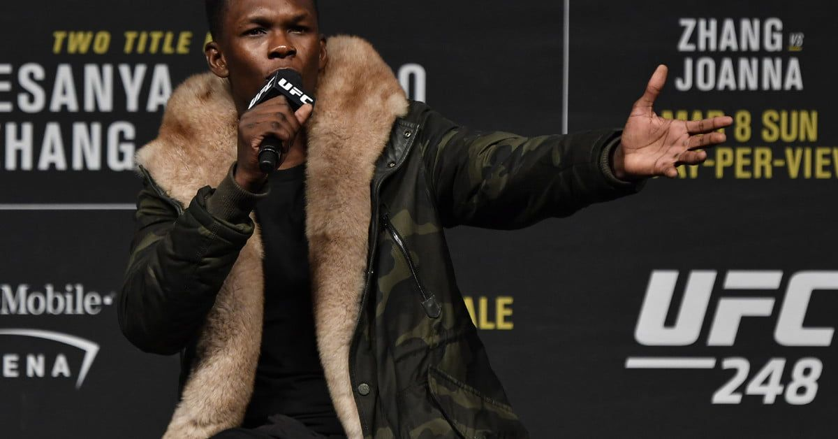 Prepare for UFC 248 by Watching Adesanya's Fights on ESPN+