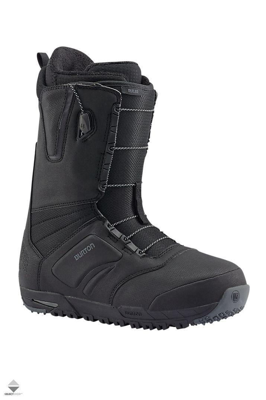 Buty Snowboardowe Burton Ruler Black Noir 10439103001 Snowboard Boots Boots Black Boots