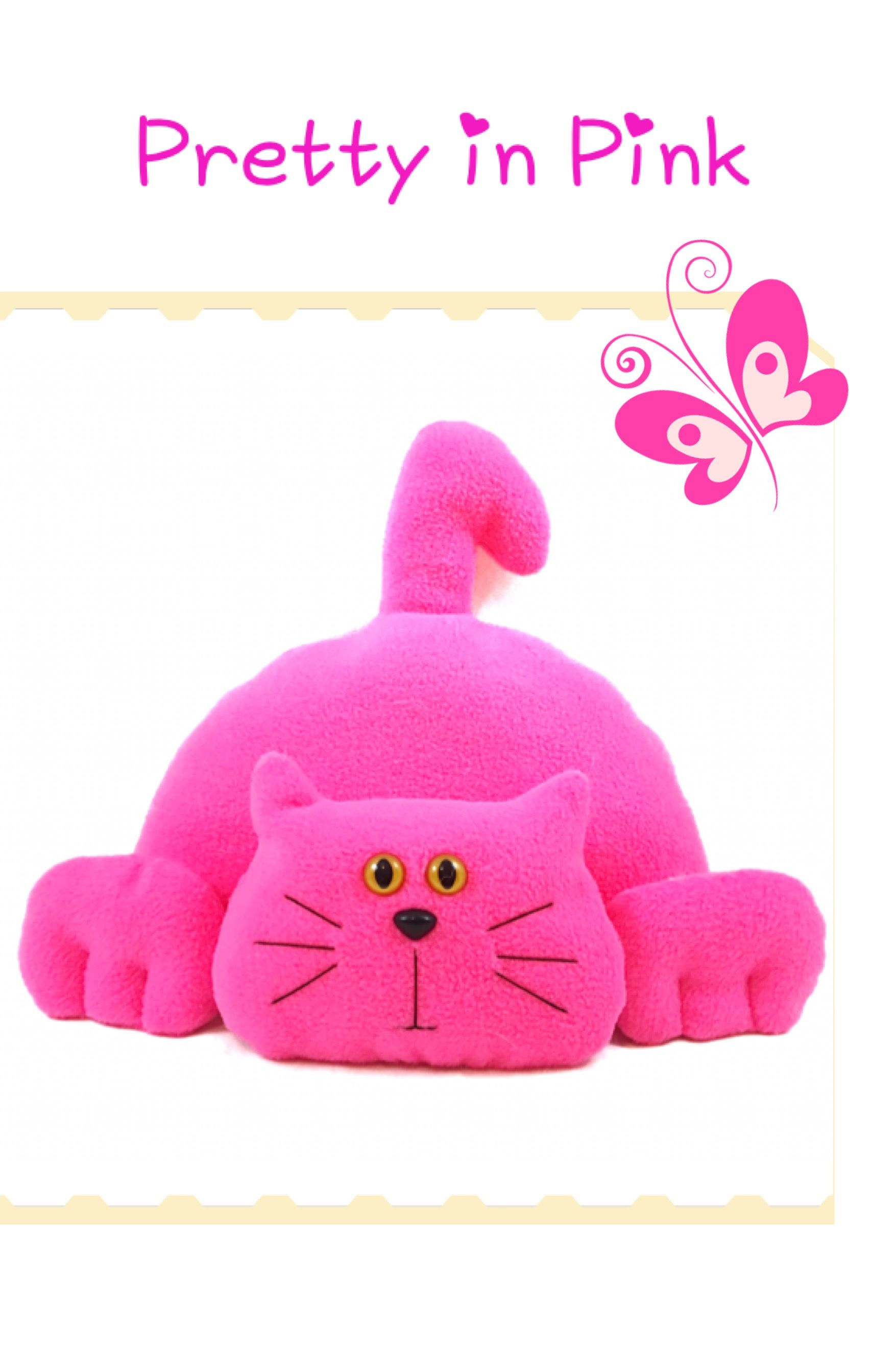 What color is your cat Fun cat stuffed animal pattern