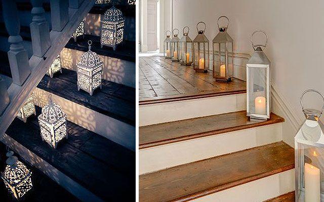 Ideas para decorar escaleras con luz Design Pinterest