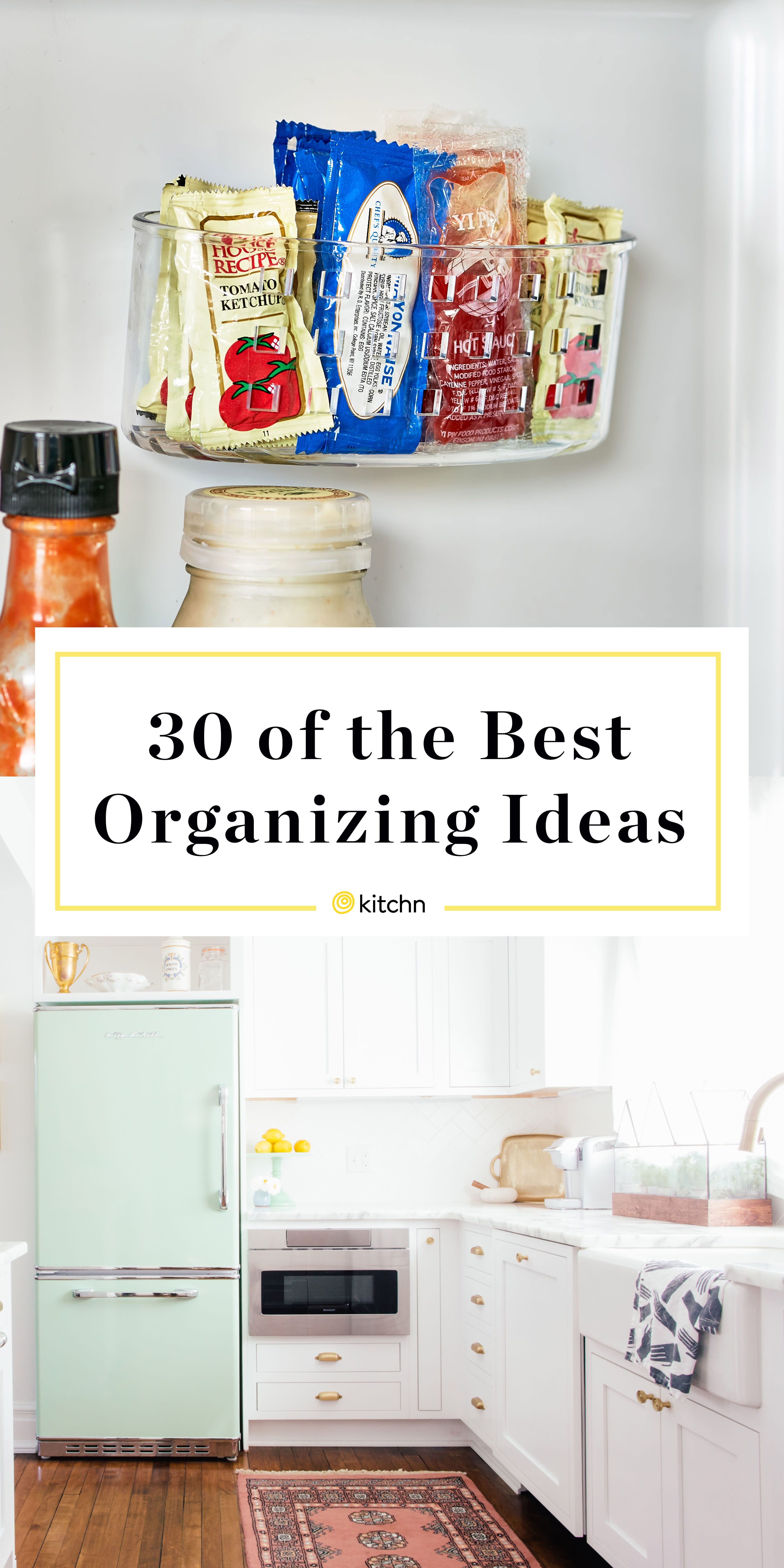 The 35 Most Brilliant Organizing Ideas Of All Time Tidy Kitchen Clean Kitchen Cabinets Kitchen Organization