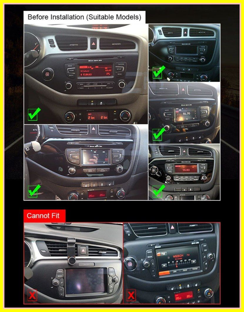 New 9 Super Slim Touch Screen Android 8 1 Radio Gps Navigation For Kia Ceed 2012 2016 Head Unit Tablets Stereo Multime In 2020 Gps Navigation Kia Ceed Cheap Car Audio