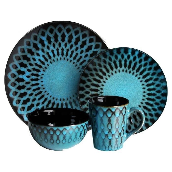 Naples Dinnerware - I think I need new dinnerware - want turquoise ...