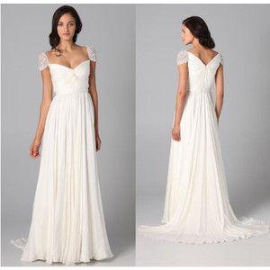 Reem acra sparkle cap sleeve wedding dress olivia wilde gown 37 cgi junglespirit Choice Image