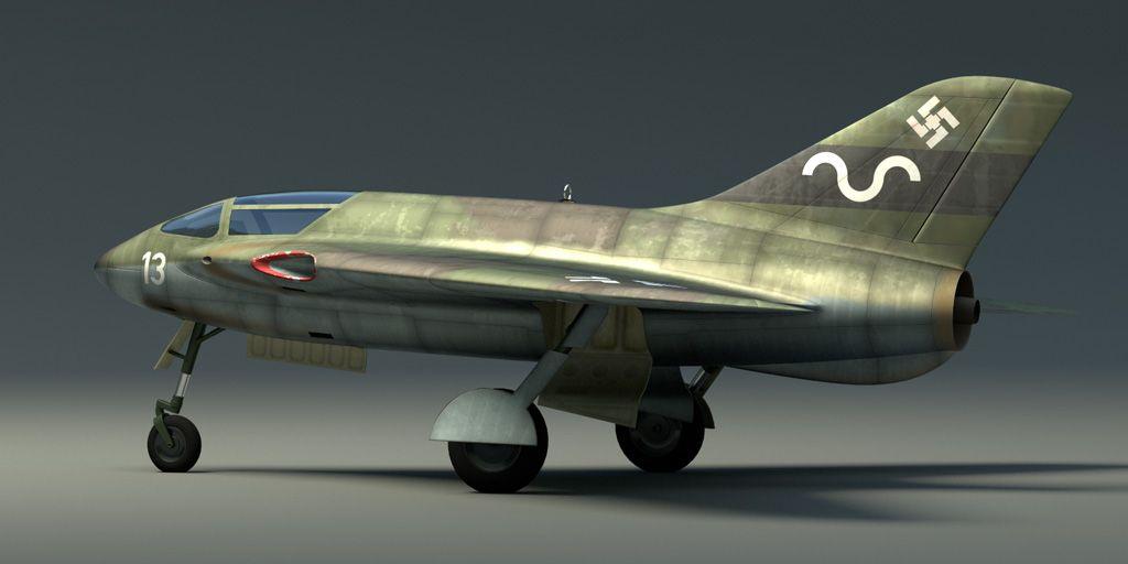 Messerschmitt P.1112S/2. The l...
