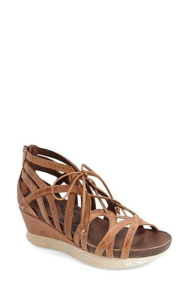 OTBT Nomadic Metallic Wedge Sandals PCtbH