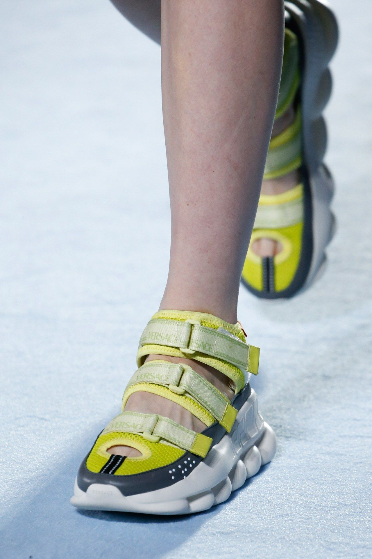 1feadffad3e Trendy Sneakers for SS19: Statement Sole. Versace Spring Summer 2019 MFW.
