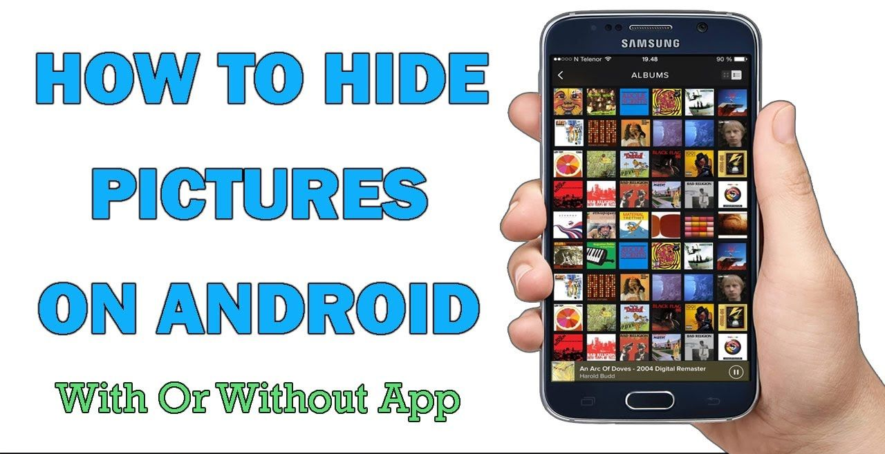 [4 Ways] How To Hide Pictures On Android Without App In