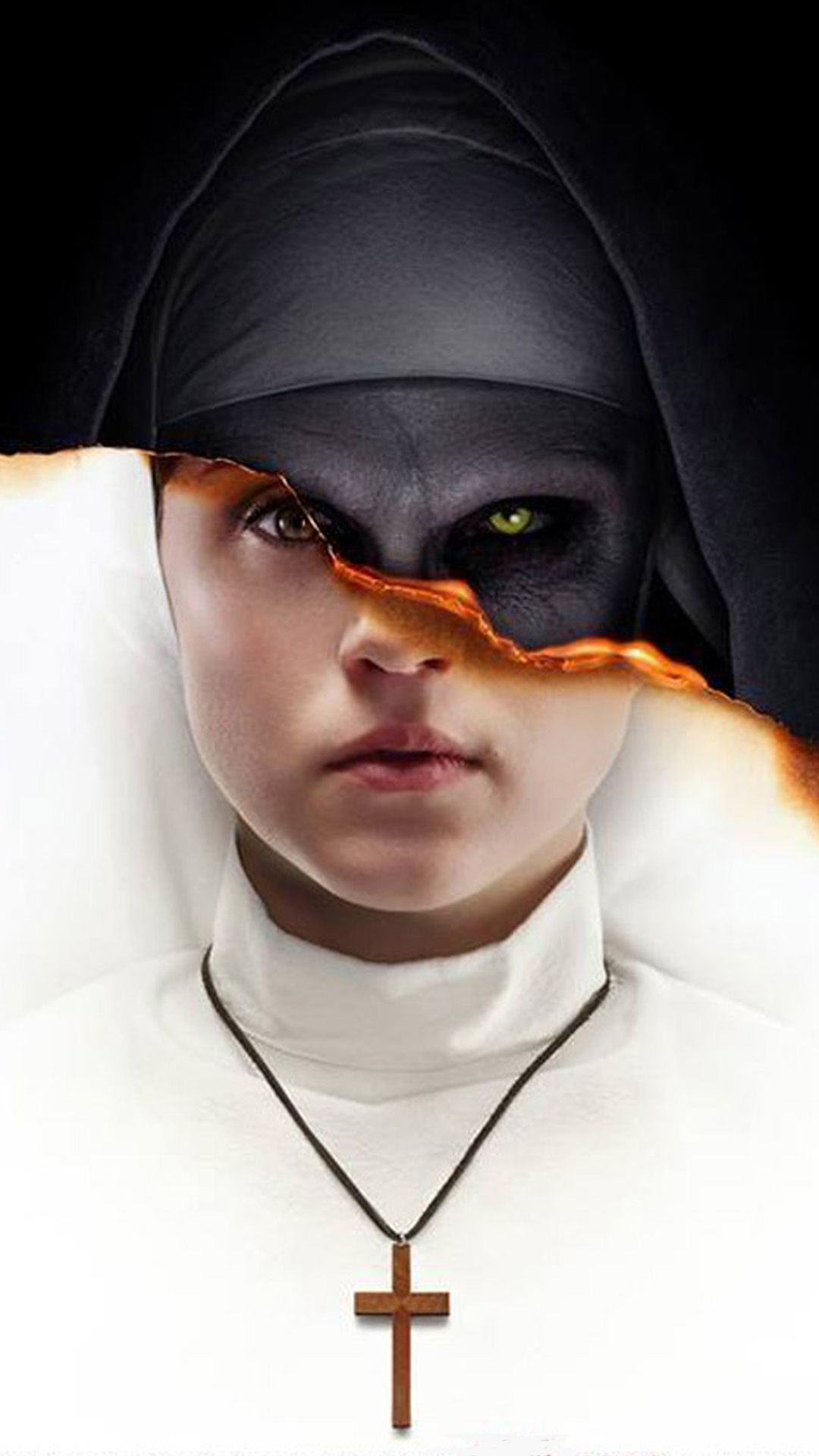 The Nun 2018 4k Ultra Hd Mobile Wallpaper Scary Wallpaper Horror Photos The Conjuring