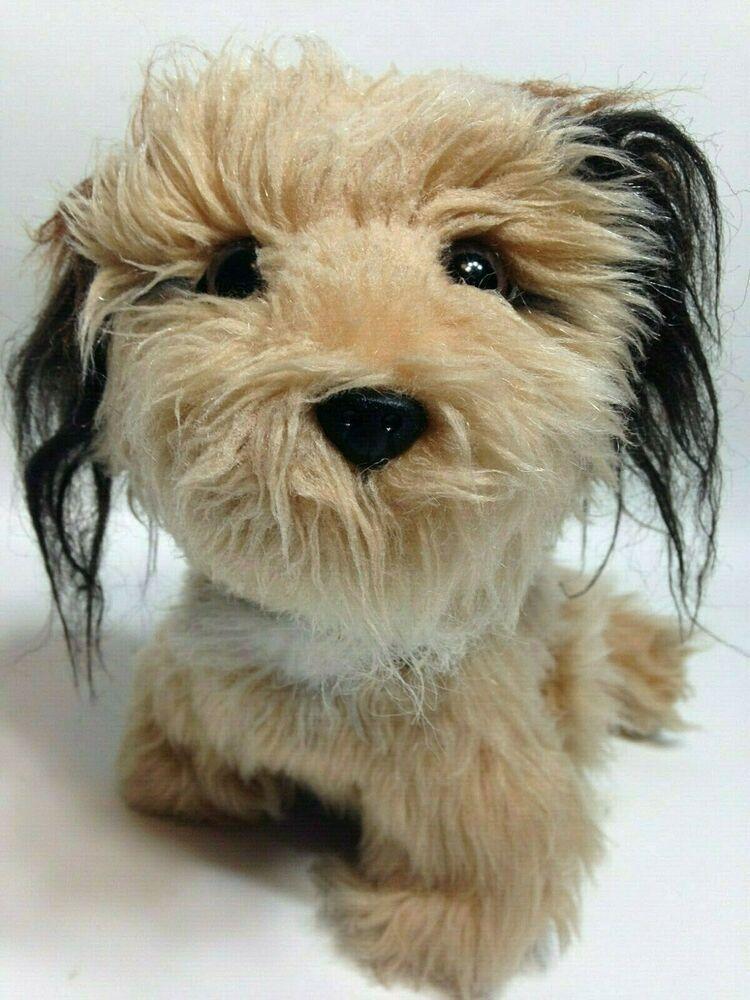 Dakin Benji Dog Plush Shaggy Brown Terrier Soft Stuffed Vintage