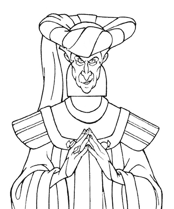 disney villains coloring pages disney heaven disney coloring book disney - Disney Villain Coloring Pages