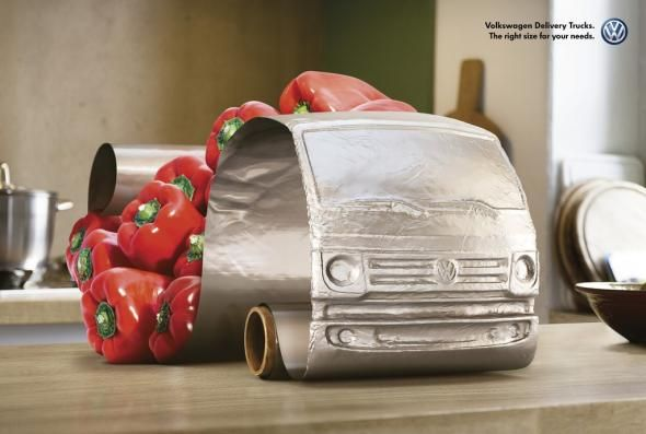 Volkswagen Delivery Trucks: Peppers