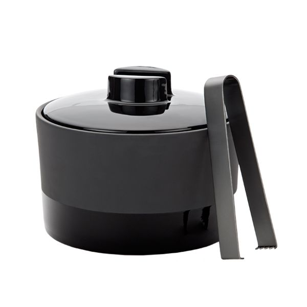 Black Terracotta Ice Bucket By Magisso Ice Bucket Wine Bucket