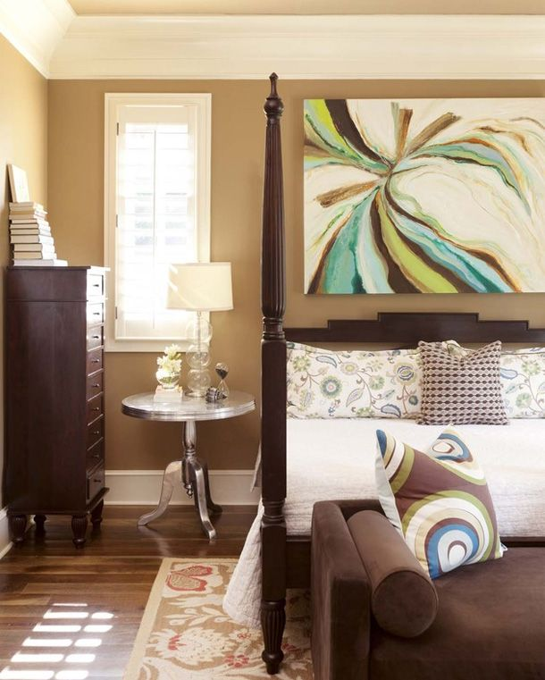 I think that painting is pretty cool master bedroom Home Decor
