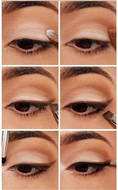 Maquillaje De Ojos Para Ojos Marrones Paso A Paso Buscar Con Google Como Maquillarse Los Ojos Sombras De Ojos Naturales Como Maquillar Ojos Cafes