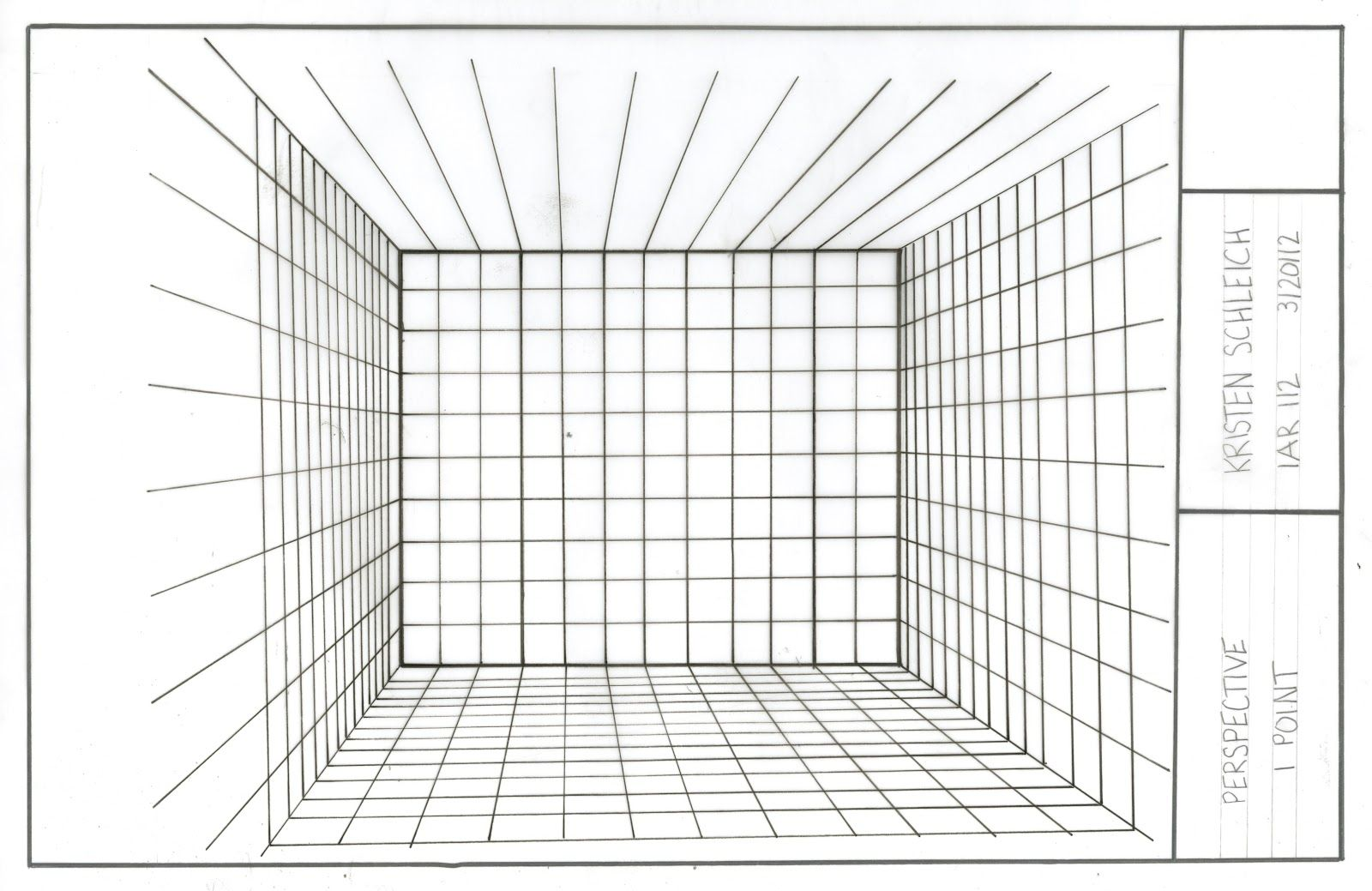 Interior Architecture Through the Eyes of Me: Perspective