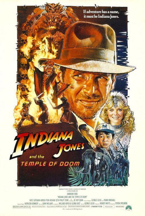 99 Classic 80 S Movie Poster Designs Web Design Mash Doom Movie Classic Movie Posters Indiana Jones