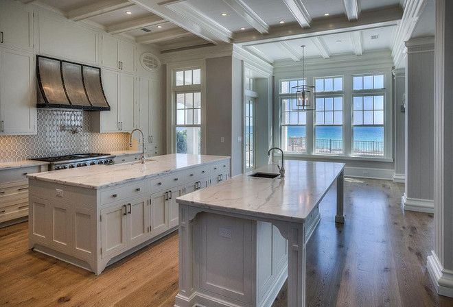 Kitchen two islands. Kitchen with two islands layout, photos and ideas.  30avibe Photography. | Interior Design Trends | Pinterest | Island kitchen,  ...