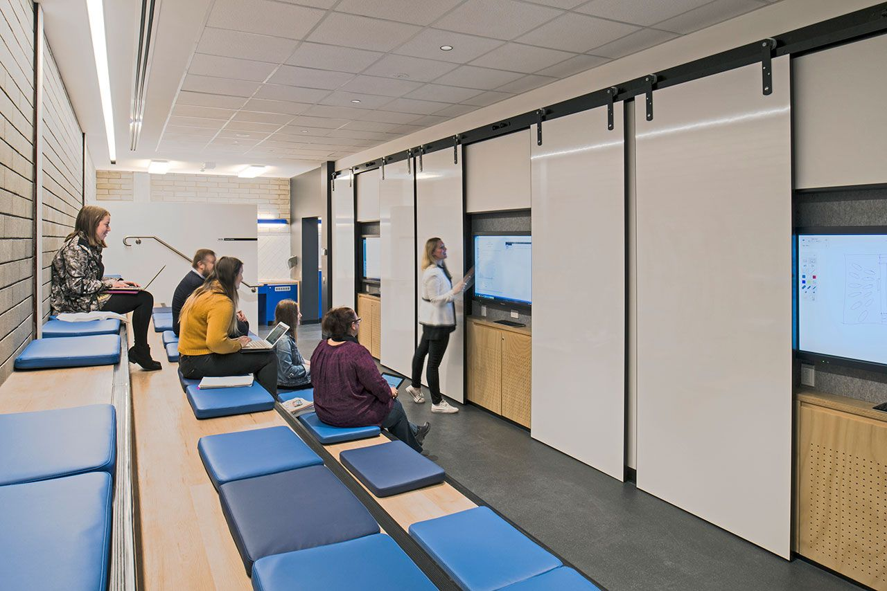 geyer university of newcastle learning space 1 office