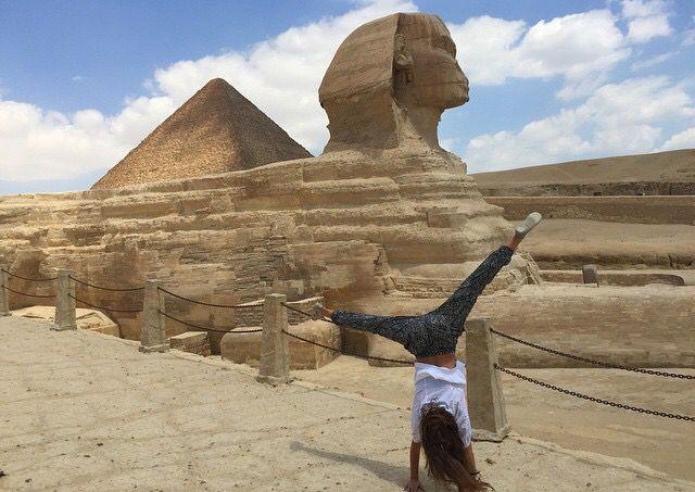 Faire une grande Roue en Égypte.