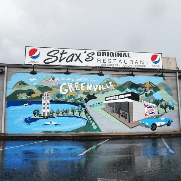 Wall Murals Of Greenville Sc The Eclectic Voyager Wall Street Art Wall Murals Mural