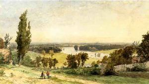 Richmond Hill en 1862 - (Jasper Francis Cropsey)
