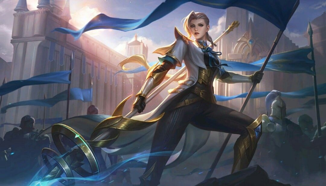 Silvana Full Wallpaper Hd With Images Mobile Legends Mobile