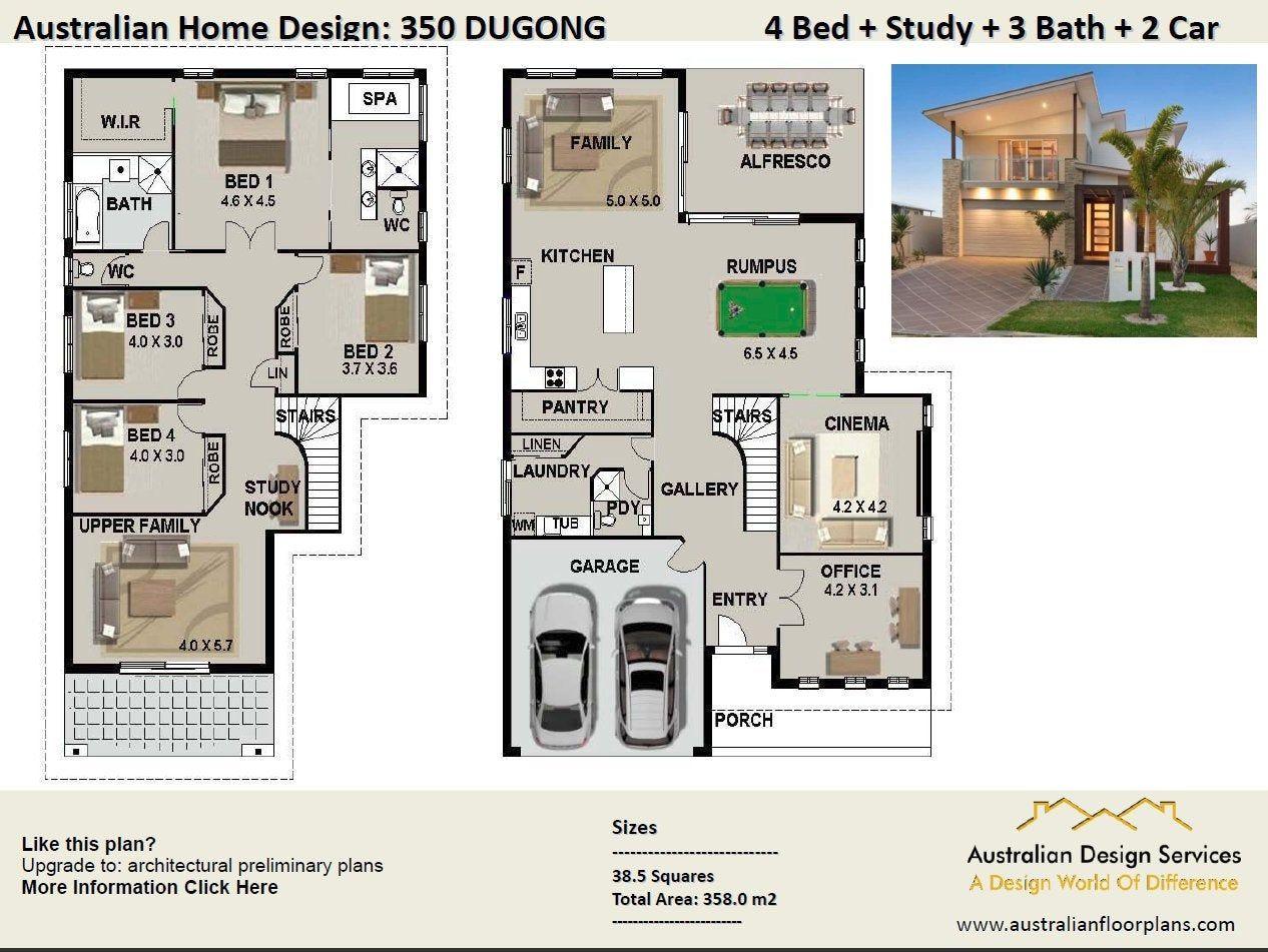 Distinctive 2 Storey Homes Designs Two Storey House Design Etsy House Design House Plans Australia Australian House Plans