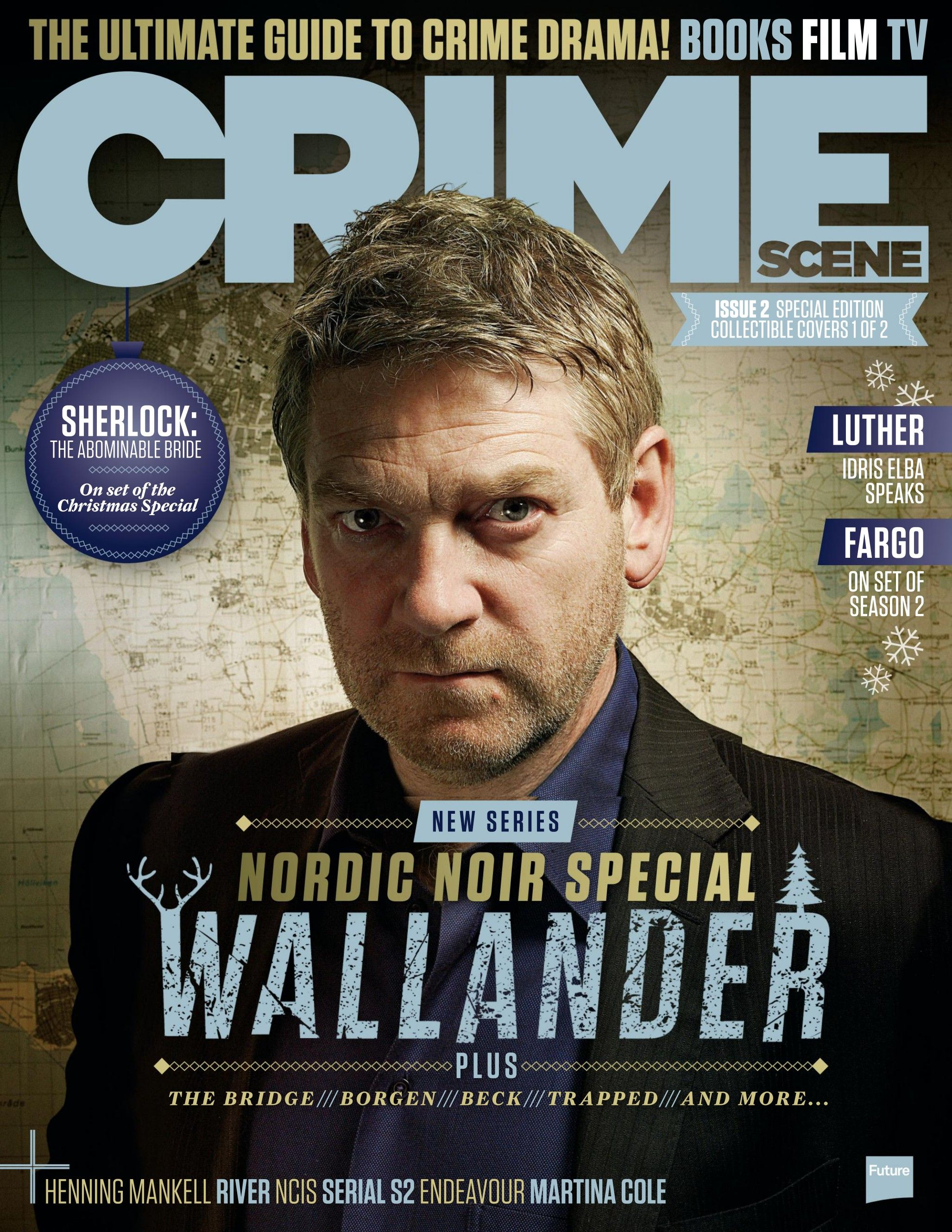 CRIME SCENE Magazine 2. #Luther, #Sherlock, #Fargo, #Wallander and all best fiction #series, #books and #films.