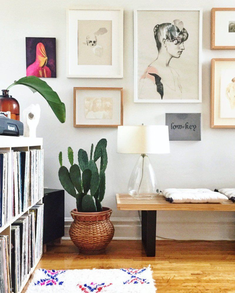 Cheap Local Apartments: Elaine Gaito's Toronto Home Tour Is Filled With Local Art