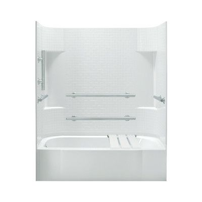 Sterling By Kohler Accord Ada 30 Bath Shower Kit With Left Hand