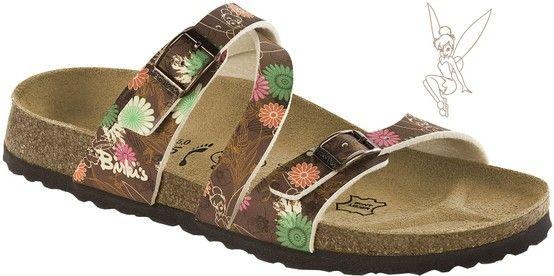 8a6d5a7648b Zdravotní obuv Birki Disney - Salina Tinker Bell brown   Birko-flor. více na