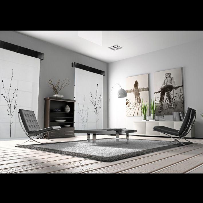 Estores japoneses salas y comedores cortinas salon paneles japoneses y cortinas ventana - Estores y paneles japoneses ...