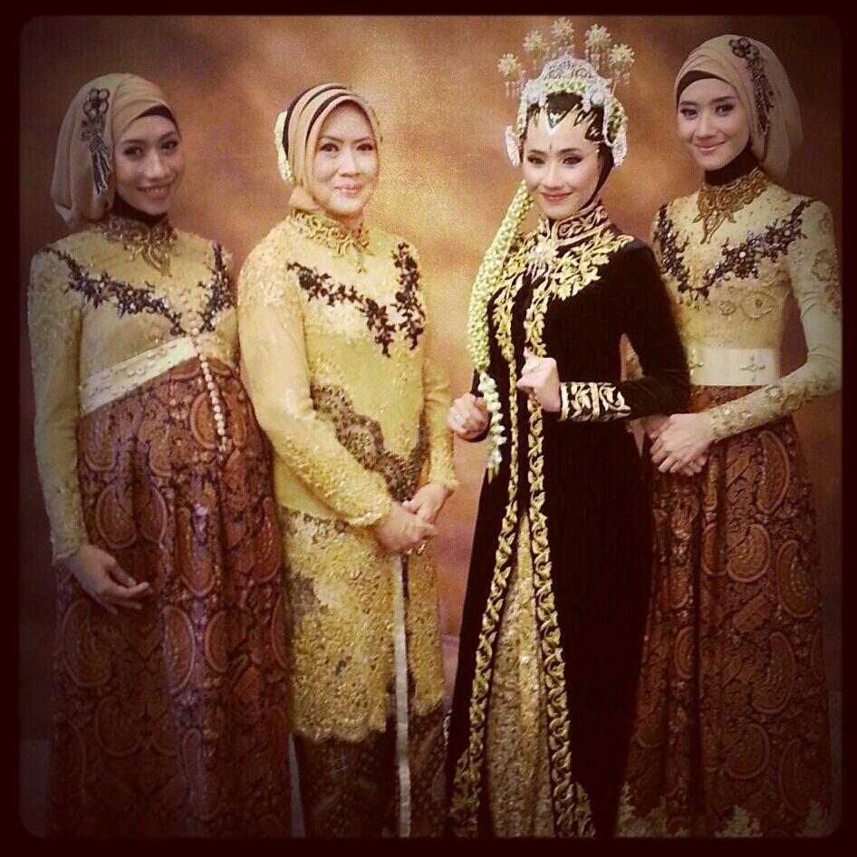 Model Baju Muslim Gamis Batik: Kebaya Muslim, Model Kebaya Muslim