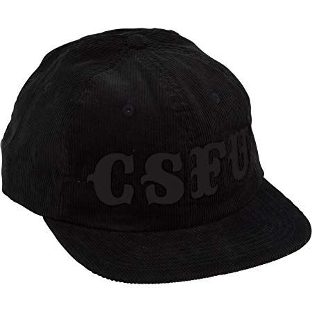 Creature Skateboards CSFU Support Black Cord Snapback Hat \u2013 Adjustable Review