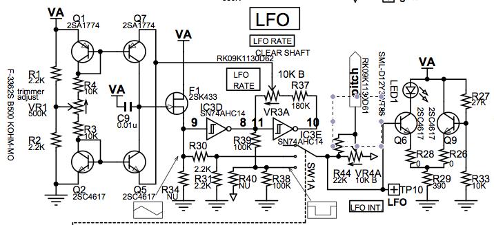 Korg Monotron Delay, LFO output - Gearslutz Pro Audio