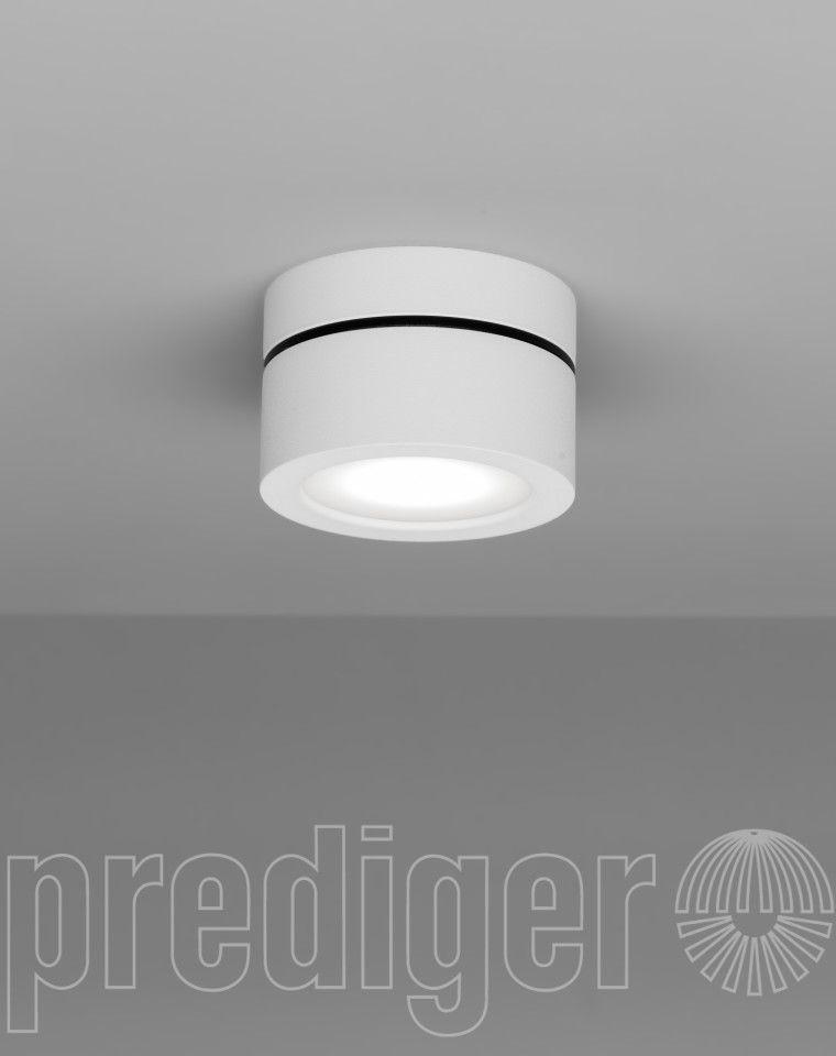 Mini Light Clock LED Außendeckenleuchte Weiß – Design Leuchten ...